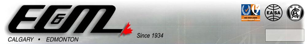 E C & M Electric (1934) Ltd                                                                                                                                                                     …………Calgary   403 720-2800 …………Edmonton 780 452-3674